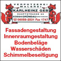 Verputzerei Malerei Karlheinz Geb